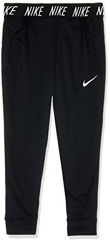 Nike Mädchen Trainingshose Dry Studio, Black/White, L, 939525-010