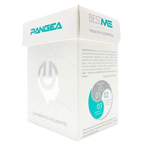 Bestme Pangea | Protege el Sistema Inmune | Refuerza las Defensas | Aceite de Krill (Omega 3) | Probióticos Lactobacillus para la Flora Intestinal | Complejo Vitamínico (Multivitaminico ).60 Cápsulas
