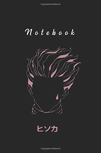 Notebook: Hisoka Anime Hunters Art Notebook and Journal With College Rule For Diary and Composition Book Size 6inx9in to Write in and Take Note
