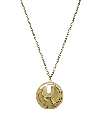 The Hunger Games Movie Necklace Single Chain 'Mocking Jay Gyroscope'