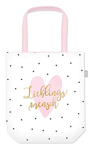 Grafik Werkstatt Einkaufstasche mit lustigem Spruch|Shopping-Bag faltbar | leichte Tasche | Lieblingsmensch