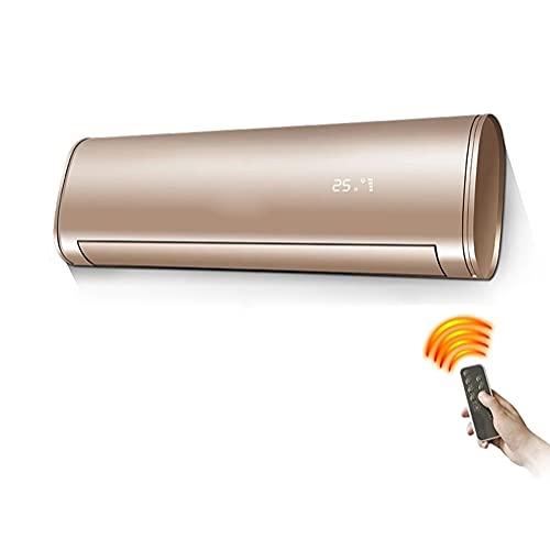 YXZN Riscaldatore da Bagno Condizionatore d'Aria Termoventilatore da Parete sopra la Porta con Display a LED, Timer e Telecomando Riscaldatore Elettrico in Ceramica Adatto per Il Bagno in Ufficio