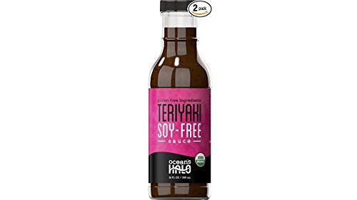 2 bottles of Ocean's Halo Organic soy-free Teriyaki sauce
