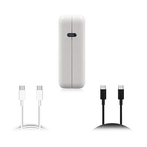 BatPower 61W USB-C Adaptador de Corriente, Fuente de alimentación 61W USB C Suministro de energía, Cargador de 65W 61W USB C para MacBook Pro/Air, Surface Book 2 / Laptop 3 / Prox / Pro7 y más