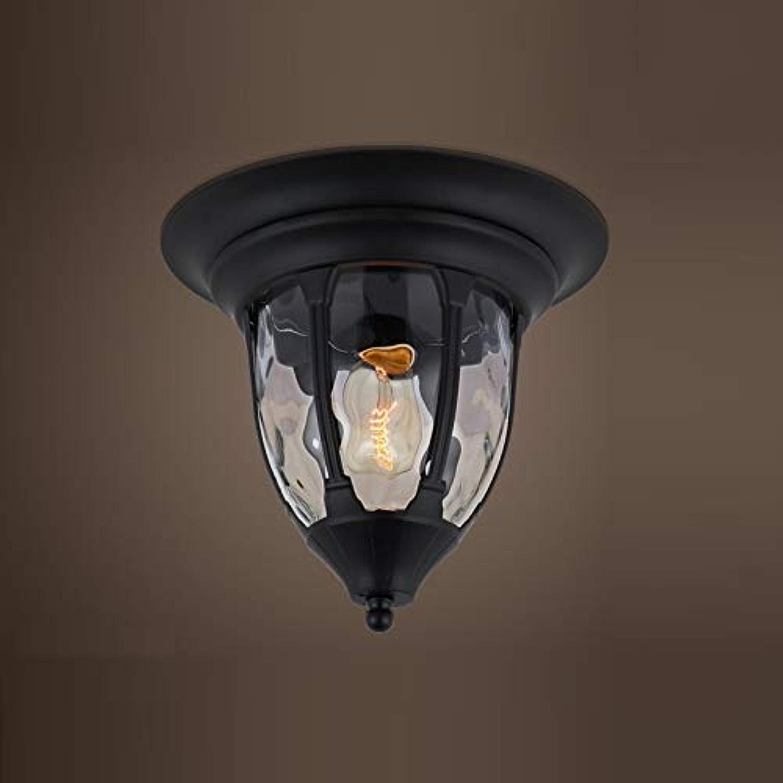 Lustres Lustre De Lustre Plafonnier Américain Européen Créatif Retro Vent Industriel Led Balcon Couloir Couloir Porche Chambre Salle à Manger Lampes