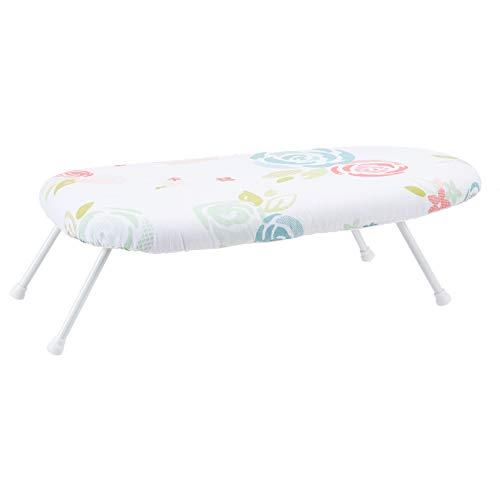 Amazon Basics – Tisch-Bügelbrett mit klappbaren Beinen, 36 x 59 cm, weiß