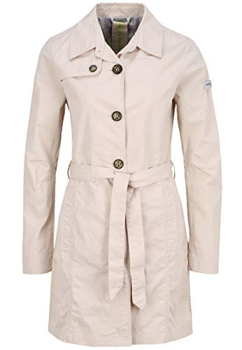 Frieda & Freddies Damen Trenchcoat Dana Bindegürtel