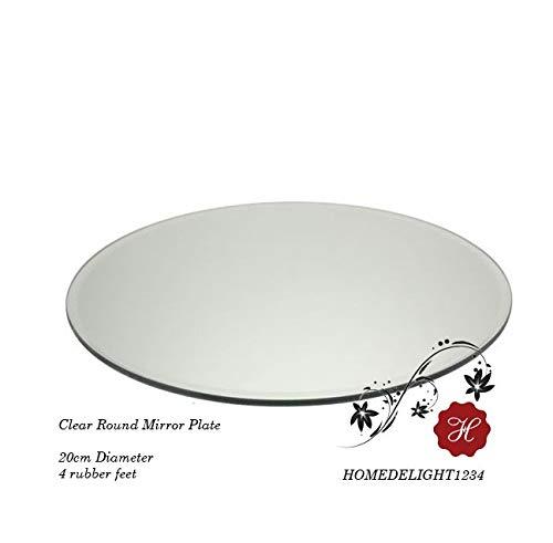 Runder Spiegel-Teller/Teller Kern, 20cm/7,9Zoll/-25cm 9,8