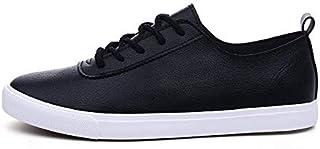 [アンリ] カジュアル レザーシューズ 軽量 スニーカー フェイクレザー 靴 きれい目 耐水 アクティブ 38~44 メンズ
