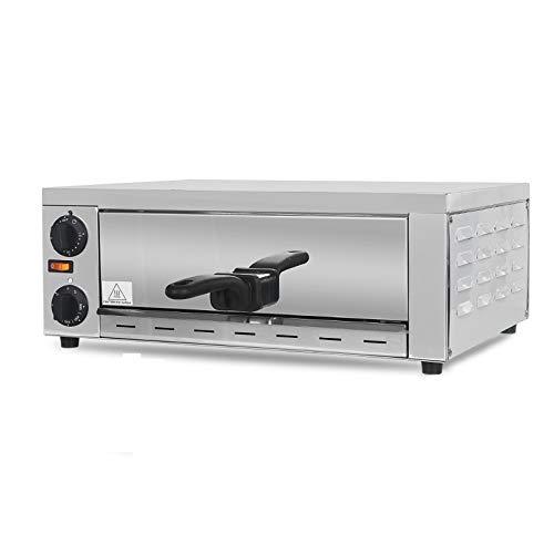 Horno de Pizza eléctrico de acero inoxidable ITOP, horno de Pizza de pollo asado para pasteles, máquina de hornear de cocina de uso comercial, procesador de alimentos