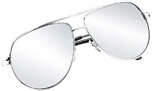 Preisvergleich Produktbild PEARL Verspiegelte Sonnenbrille im legendären Piloten-Style (UV-400)