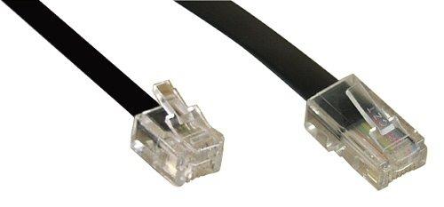 InLine Modularkabel, RJ45 zu RJ11 Stecker / Stecker, 4adrig, 6m
