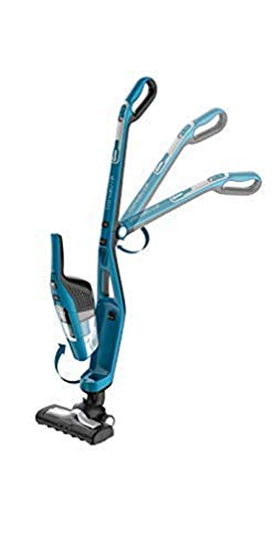 Rowenta RH6751WH Dual Force 2in1 Akku-Staubsauger (kabellos, beutellos, hohe Saugleistung auf allen Böden) blau/schwarz