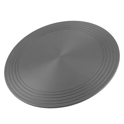 Vassoio di scongelamento 2-in-1 e piastra di diffusione del calore della stufa, piastra di scongelamento rotonda da 11 pollici piastra di scongelamento rapido vassoio di scongelamento per carne