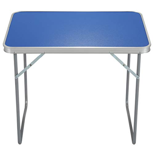 Queiting Portable Folding Outdoor Camping Table For Indoor Outdoor Picnic Party...