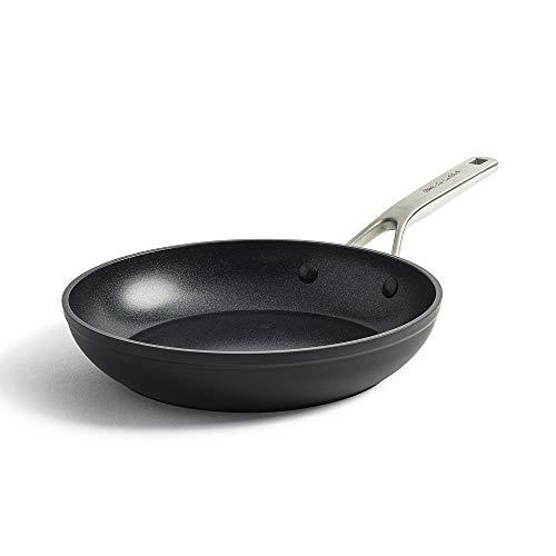 KitchenAid Pfanne, Bratpfanne Induktion, Antihaft Pfanne mit Edelstahlgriff, Hochfestes Aluminium, Backofen- und Spülmaschinengeeignet - 24 cm