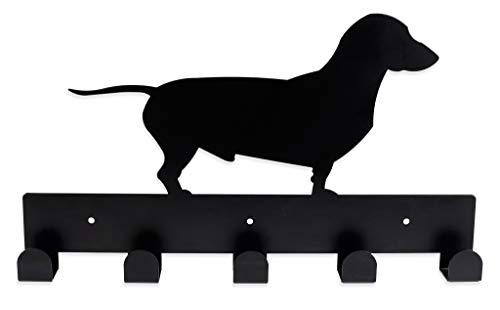 Colgador de Pared con Forma de Perro para Ropa, complementos y Toallas