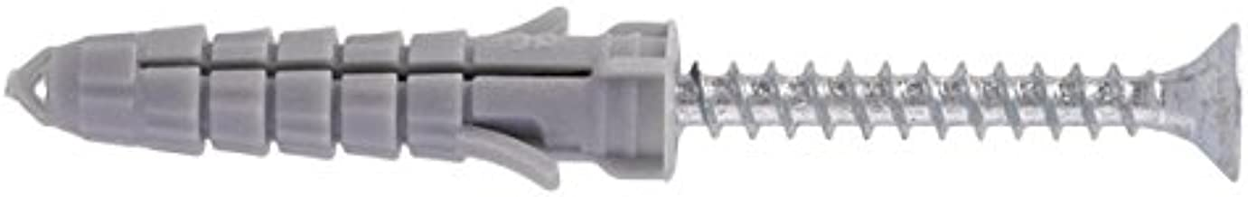 Gris Molly M40810-XJ Boulons /à expansion avec vis M8 Set de 10 Pi/èces