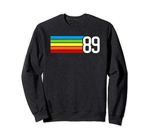 1989 Retro-Stil Geschenk zum 30. Geburtstag Sweatshirt