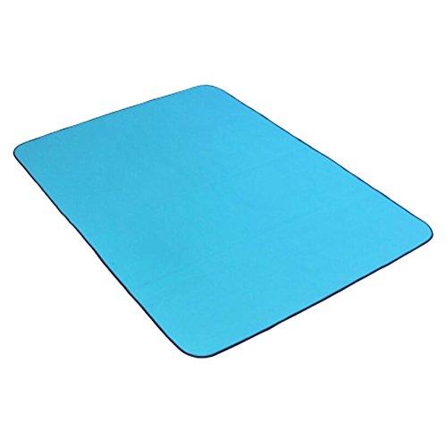 Outdoor Bleu Waterproof Picnic Beach Mat coussinée Yoga Mat