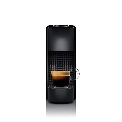 Cafeteira Nespresso Essenza Mini Preta 110V + 50 Cápsulas de Café Ispirazione Ristretto Italiano