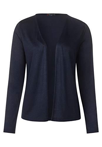Street One Damen Softe Shirtjacke Nette deep Blue 46