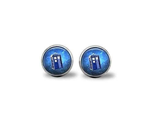 bab Doctor Who Tardis Manschettenknöpfe