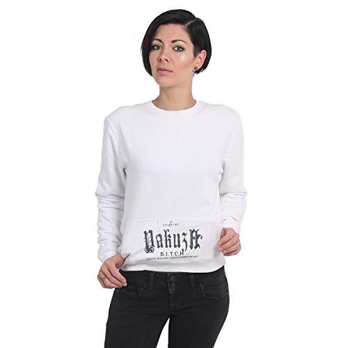 Yakuza Damen B.I.T.C.H. Pouch Sweater Pullover