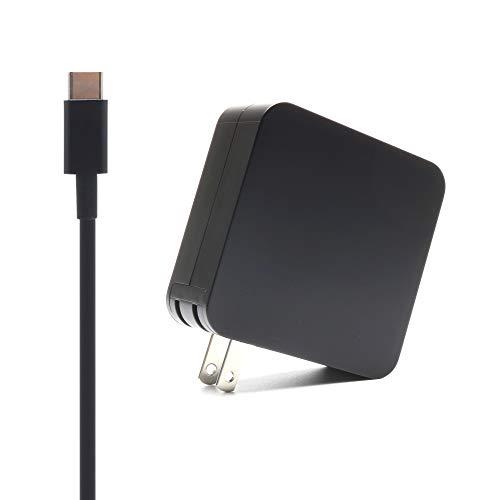 65W USB C Charger Replace for HP Spectre x360 13 13-ac013dx EliteBook x360 1030 G3 1040 G6 Elite x2 1012 G1 1013 G3 HP Pro x2 612 G2 860209-850 934739-850 Laptop