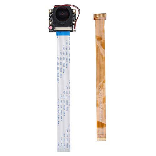 Kameramodul Hochleistungs-IR-CUT-175 ° -Kamera mit hoher Empfindlichkeit OV5647 Kameramodul Universelles RPI-Kameramodul 5MP-Kameramodul (ohne Licht)