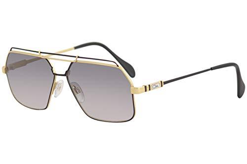 Cazal Legends 734 Sonnenbrille 302SG schwarz-gold/grau Linse 59mm