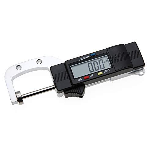 AMTAST Digital Thickness Gauge Portable Thickness Meter Vernier Caliper