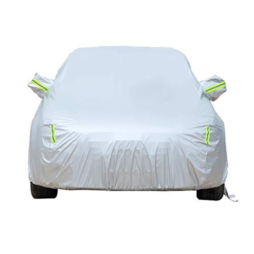 Autoabdeckung Das Car-Cover ist kompatibel mit der Chevrolet Bel Air Wagon, Oxford Stoffe, Innenschicht Plus Samt, mit Zahlenschloss, Alle WeatherproofWindproofwaterproof und UV-beständig.