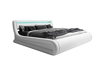 ✅** Dimensiones: Largo: 216cm Ancho: 172cm Alto cabecero: 83,5cm. Profundidad del canapé: 39,5 cm. ✅** Incluido en el precio: Luces LED Toda la estructura de la cama (el cabecero, el piecero, los dos laterales, bisagras y el somier de laminas) y la t...