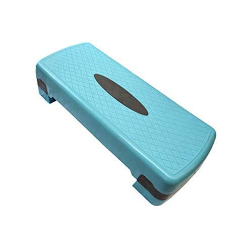 Step de Aeróbic Entrenamiento aeróbico Ajustable Paso a Paso Paso Plataformas Mejorar Ejercicios metabolismo aeróbico Pasos de Cardio (Color : Yellow, Size : 66cm)