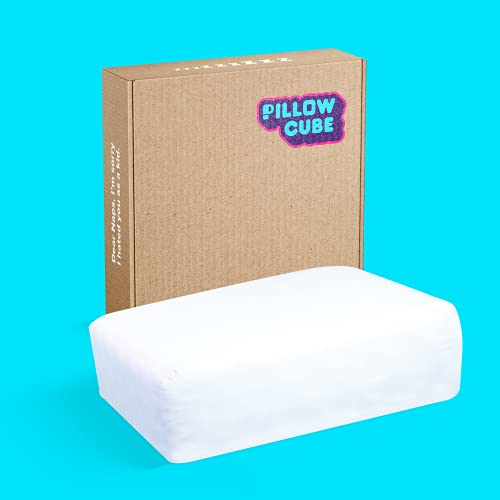 """Pillow Cube Pro - Most Popular (5"""") Bed Pillows for Sleeping on Your Side, Cooling Memory Foam Pillow Support Head & Neck for Pain Relief, Maternity..."""