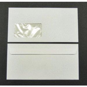Blanke Briefumschläge Munken Lynx DIN C6/5 90g/qm HK Fenster VE=500 Stück zartweiß