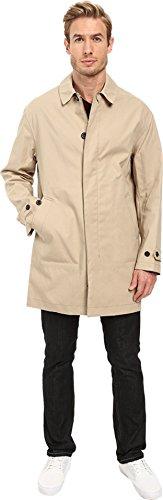 COACH Stone Beige Lightweight Cotton Hudson Car Coat Jacket 84416