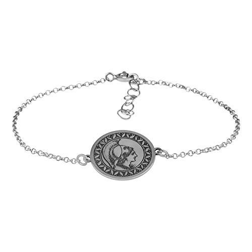 Córdoba Jewels |Pulsera en Plata de Ley 925 con diseño Denario Silver