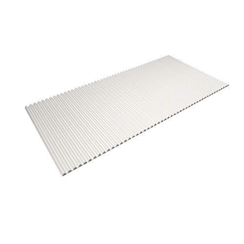東プレ 風呂ふた シャッター式 イージーウェーブネオ 75×160cm ホワイト L16