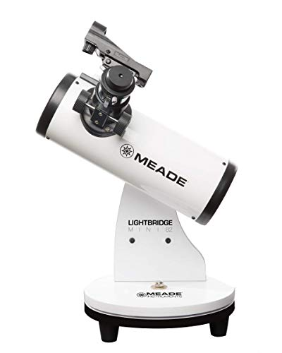 Meade Instruments LightBridge Mini 82 Telescope, White (203001)