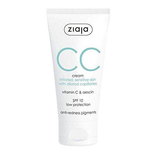 Ziaja Cc Cream Correctora para Pieles Irritadas y Sensibles - 50 ml