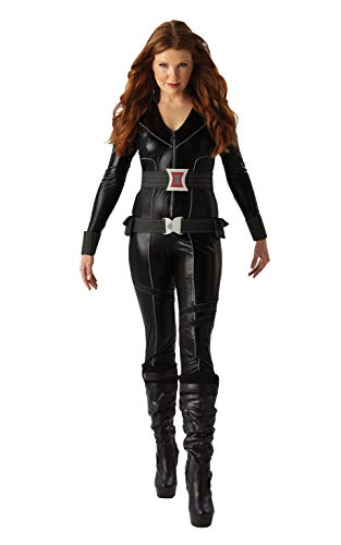 Rubies Officielle pour Femme Marvel Noir Veuve Déguisement Adulte–Large