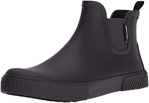 TRETORN Men's Gus Rain Boot, Black, 8 M US