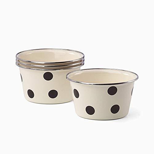 Kate Spade New York All In Good Taste Deco Dot Popcorn Bowls, Set of 4
