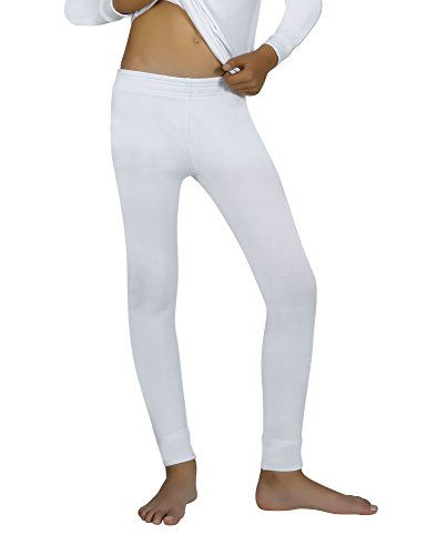 YSABEL MORA - Pantalón térmico - para niño Blanco 176 cm