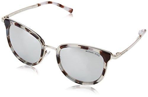 MICHAEL KORS Adrianna I, Gafas de Sol Unisex-Adulto, Multicolor (Snow Leopard 11986G), 54