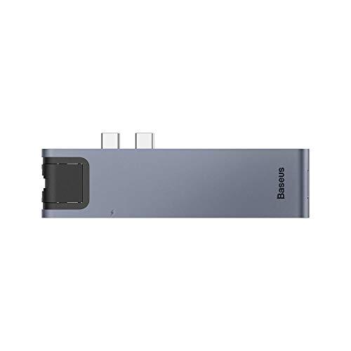 Hub Baseus USB-C Thunderbolt 3 Macbook Pro 2016/2017/2018 4K Rj-45