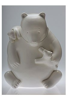 Fantastic Deal! Tom Otterness Mama Bear Cookie Jar