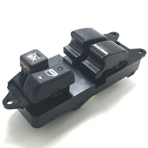 Xiyuncao Botón de Interruptor de Ventana eléctrica de Coche, para Toyota Corolla Se/We HB Verso 2004-2007 Interruptor de Ventana de Coche 848200F040 84820-0F040